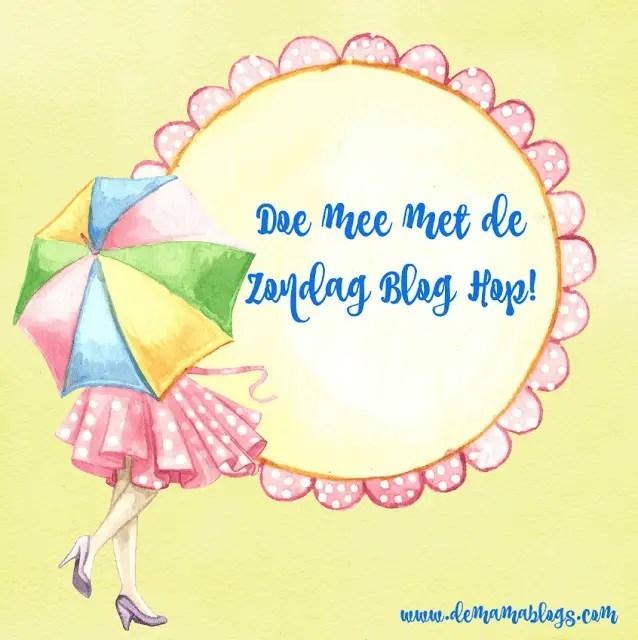 Spam je blog + ontdek nieuwe blogs: Zondag Linkparty week 4