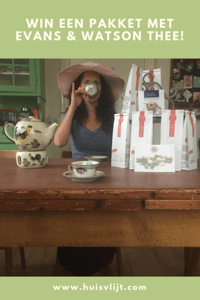 Win een pakket met Evans & Watson thee!