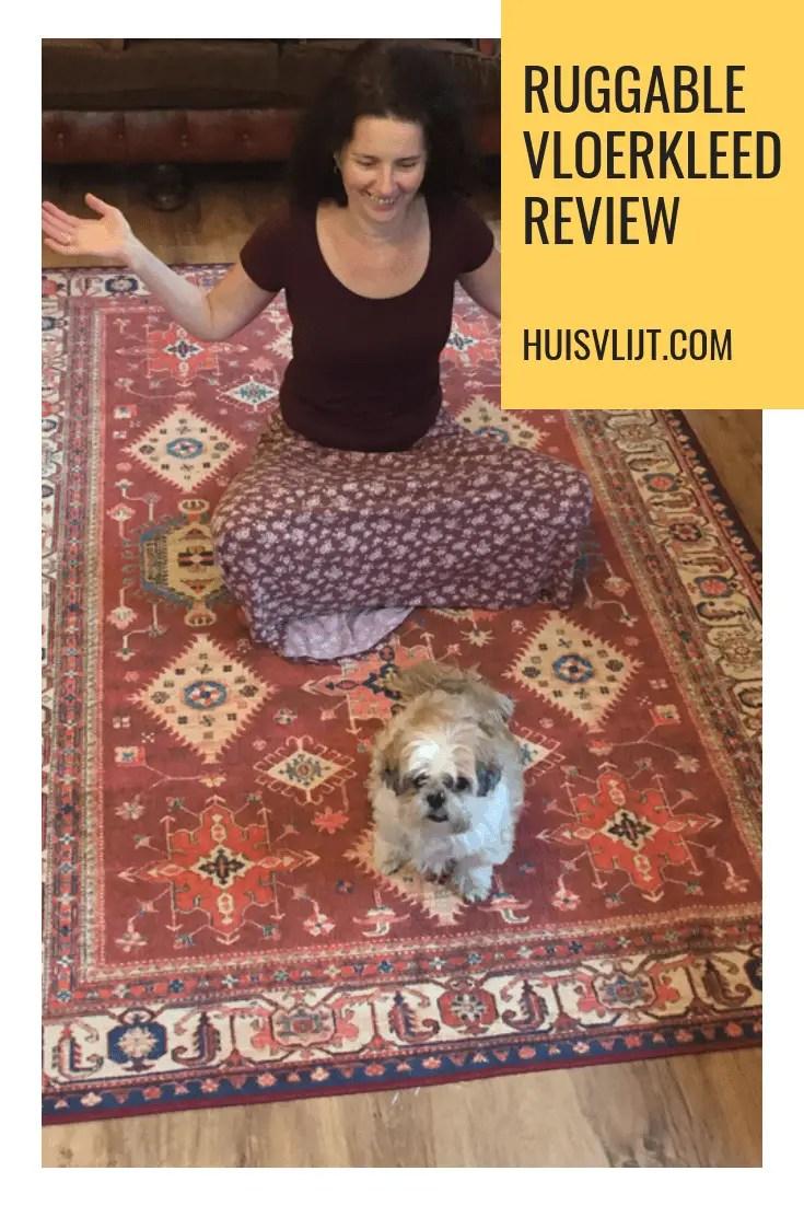 Ruggable vloerkleed: kleed dat in de wasmachine kan! Review