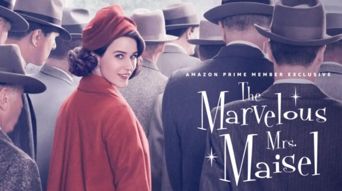 Kijktip: The Marvelous Mrs. Maisel, een zonnige serie met een hoog musical gehalte