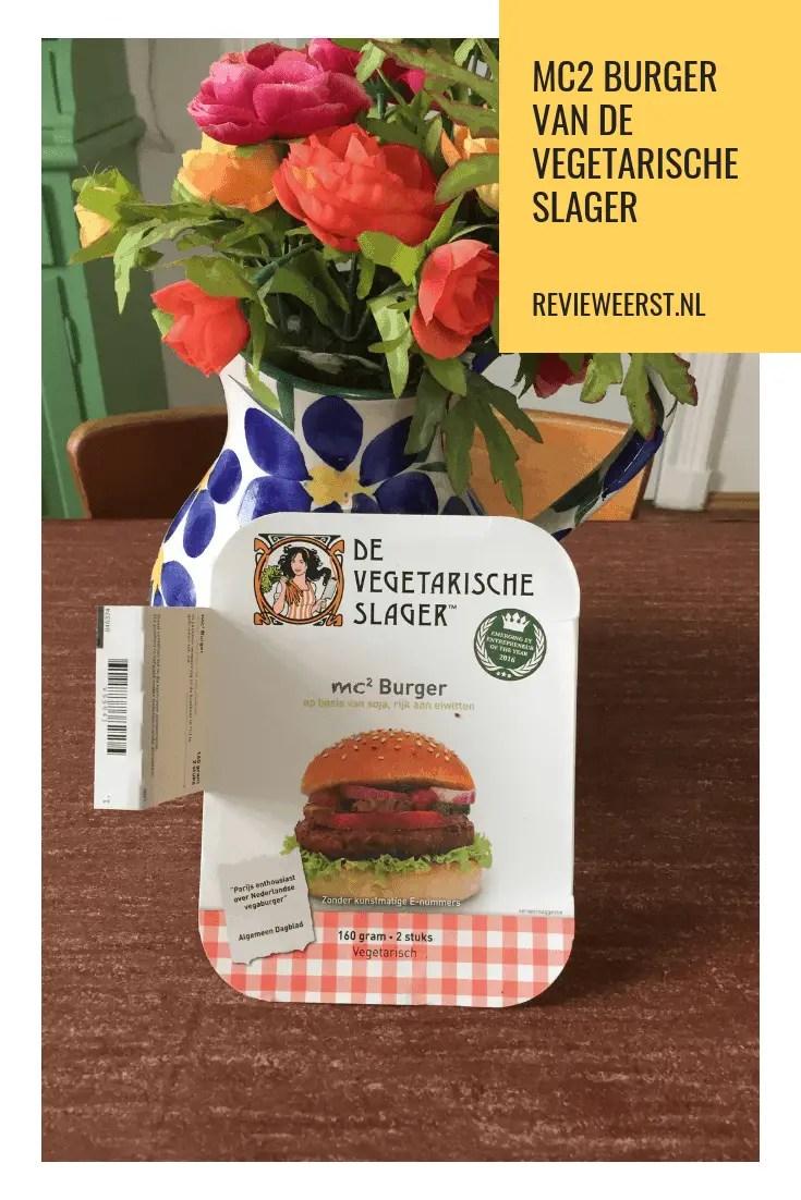 Vegetarische hamburger van de Vegetarische Slager getest