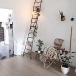 industriële woonladder als decoratie