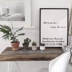 bureau van oude planken