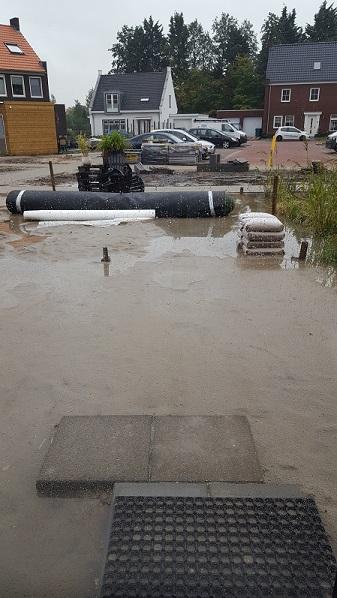 Waterprobleem achtertuin