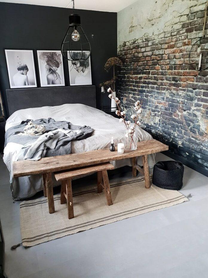 Linnen dekbedovertrekset slaapkamer huizedop