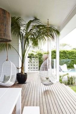 Tropische tuin veranda