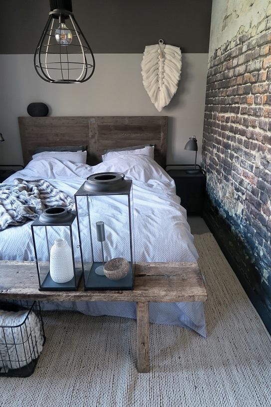 slaapkamer make over huizedop bed slapen