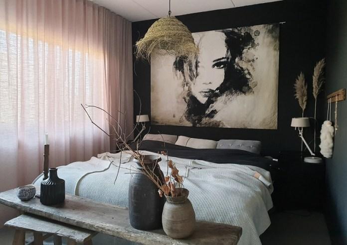 slaapkamer wanddoek interieurtips