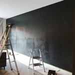 zwarte muur