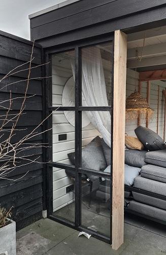 steellook raam veranda
