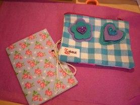 Et voilà les pochettes de mes petites couturières !