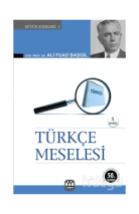 Ali Fuat Başgil-Türkçe Meselesi