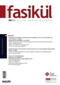 Fasikül Hukuk Dergisi