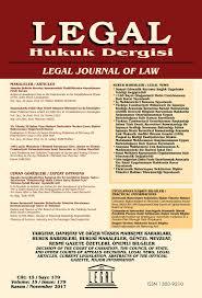 Legal Hukuk Dergisi