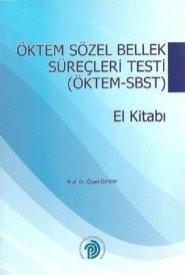 Sözel Bellek Süreçleri Testi-Öktem-SBST El Kitabı