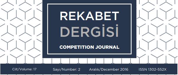 Rekabet Dergisi