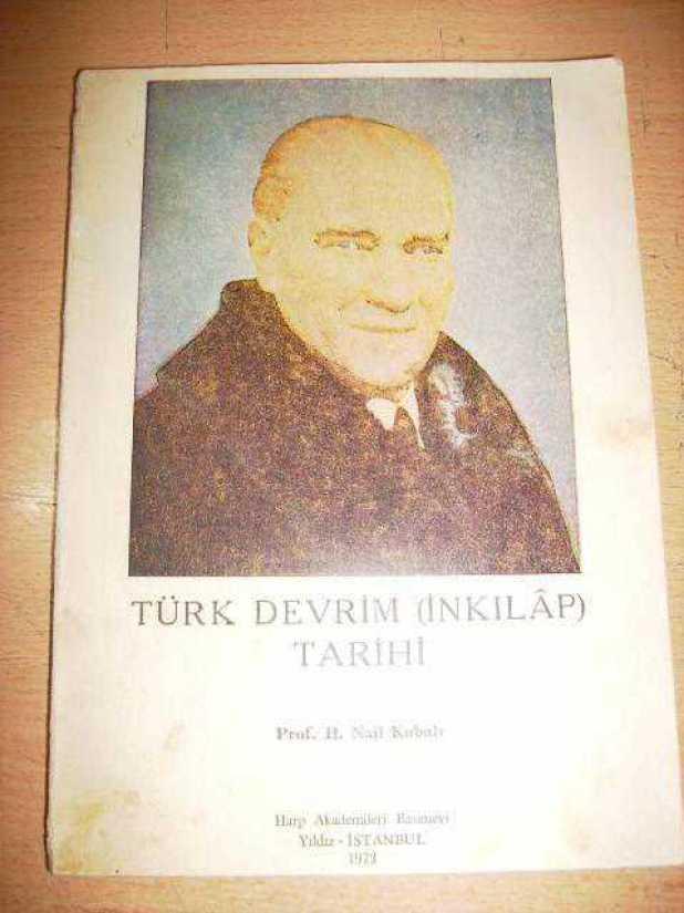 Türk Devrim tarihi - Hüseyin Nail Kubalı