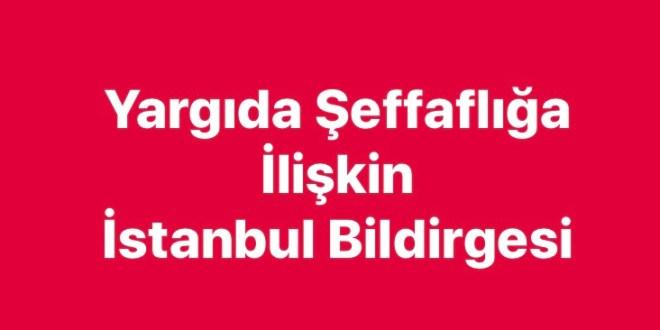 Yargıda Şeffaflığa İlişkin İstanbul Bildirgesi