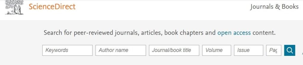 Cara mencari referensi jurnal di Science Direct