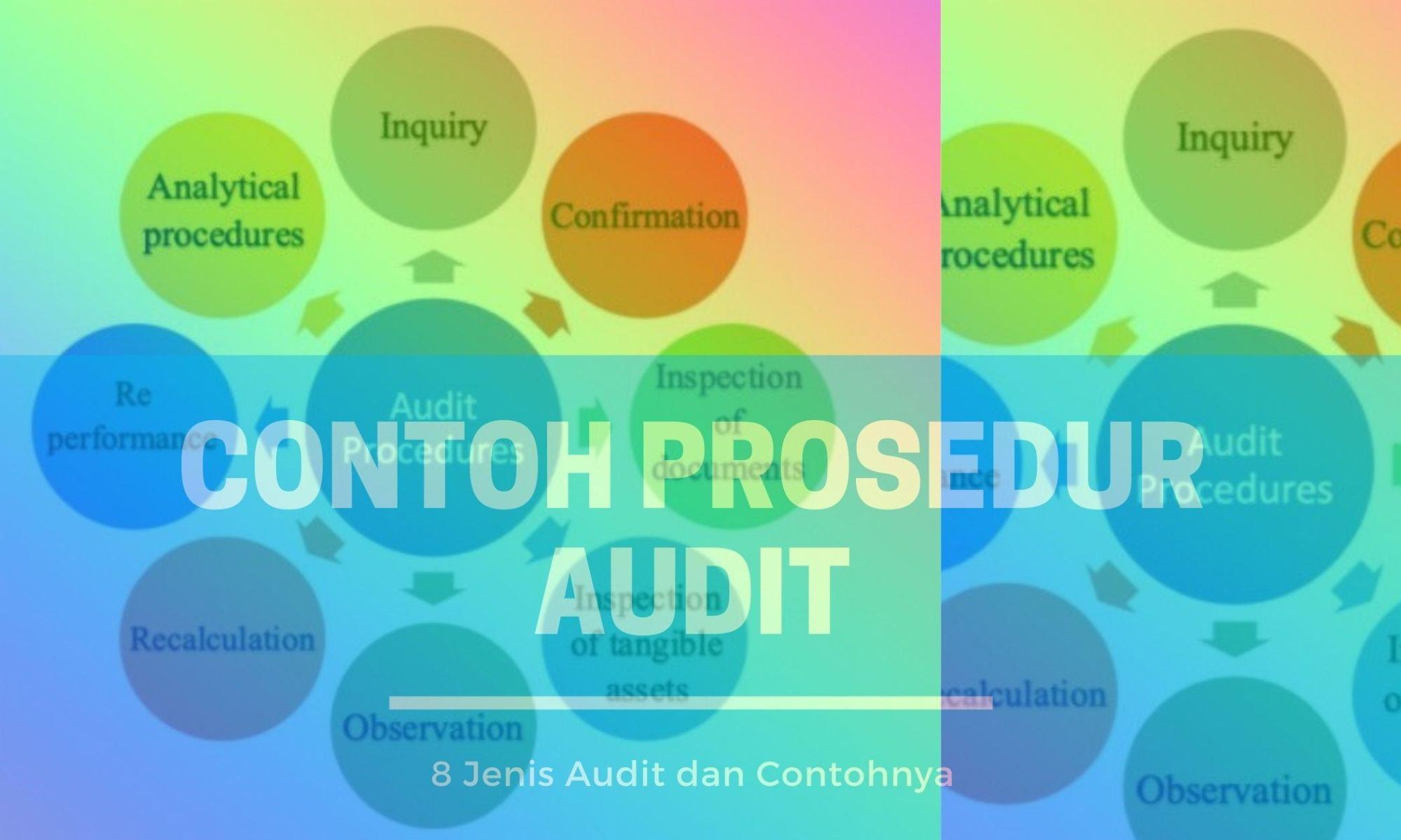 Contoh Prosedur Audit Dan Jenis Jenisnya Hukum Line
