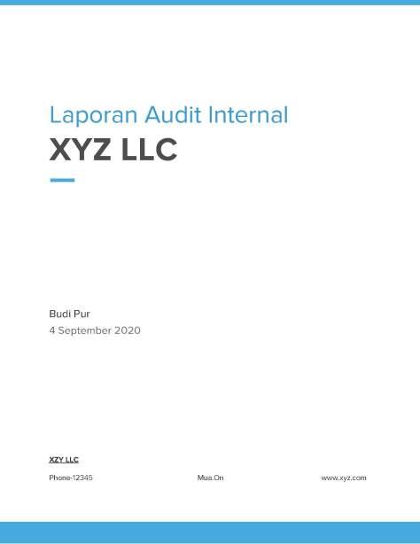 laporan hasil audit internal