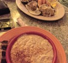 Sunset Grille She Crab Soup and combo #2