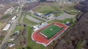 aerial view of a football field 1 - aerial-view-of-a-football-field