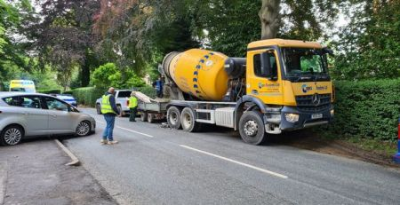 'elderly'-man-in-hospital-after-crash-with-concrete-mixing-lorry