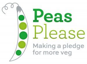 Peas please logo
