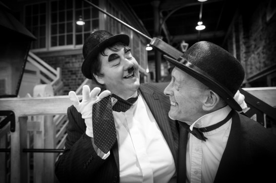 Hullywood Icons number 38 and 39 Film: Another Fine Mess Location: Hull Street Life Museum.