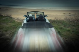 Hullywood Icons numbers 182 and 183 Film: Thelma and Louise Location: Fraisthorpe Beach.