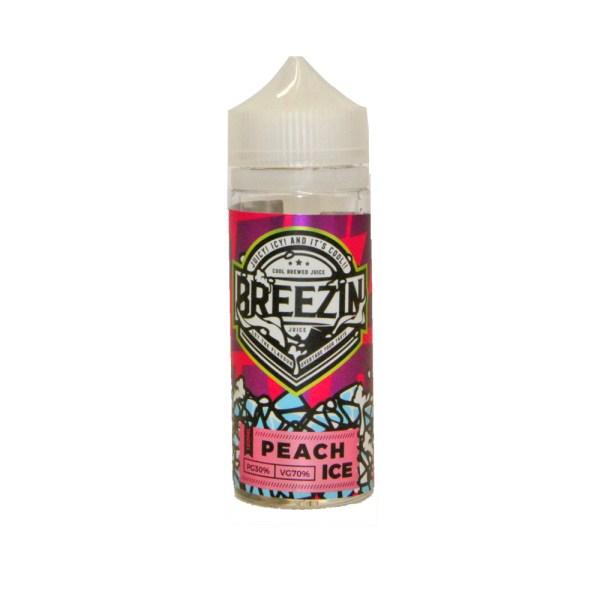 Peach ICE Breezin Juice 120ml