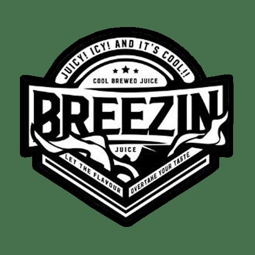 Breezin Logo for Mango ICE and Pineapple ICE