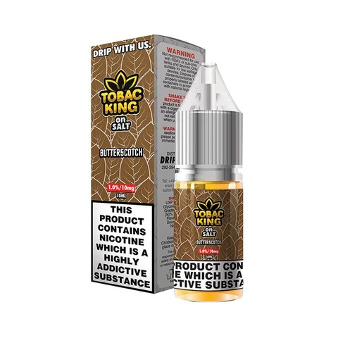 Tobac King Salt Butterscotch 10ml