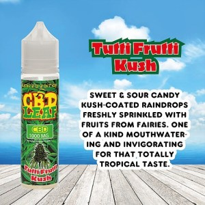 Tutti Frutti Kush by CBD LEAF 50ml