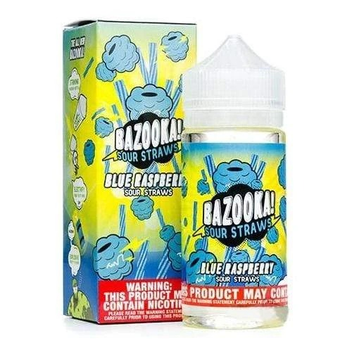 Bazooka Blue Raspberry Vape Juice 120ml