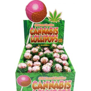 Cannabis Lollipops - Girl scout cookies