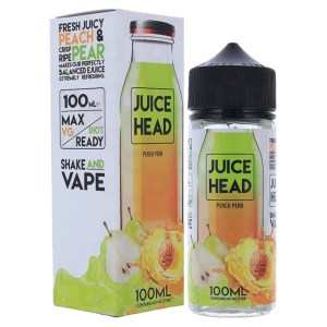 Juice Head 100ml Shortfill Peach Pear