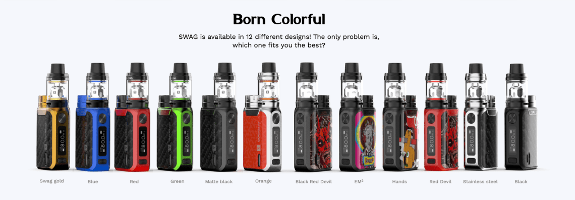 Swag 80w Kit by Vaporesso