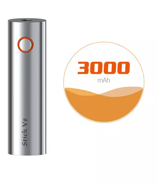 Battery Capacity - Smok Stick V8