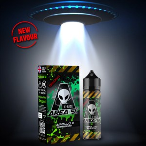 Apollo II by Area 51 50ml shortfill