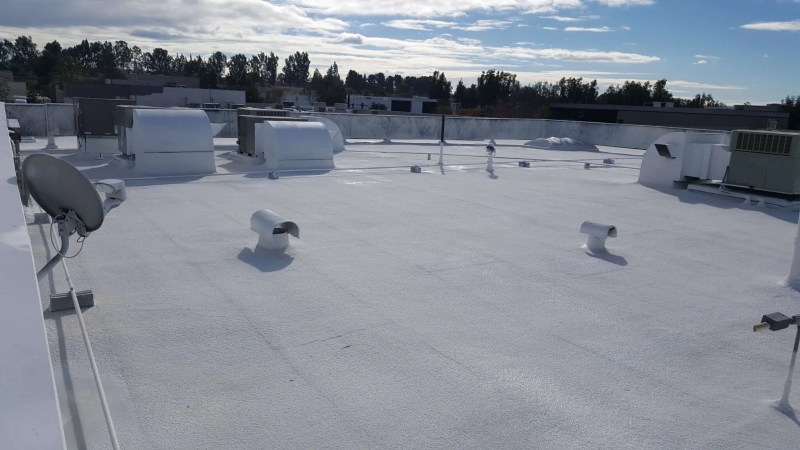 Hulsey Contracting Inc Spray Foam Roofing Services After