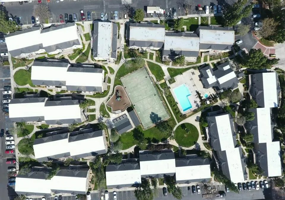 Recent Project:  Mountain View Apartments Moreno Valley Spray Foam Project 2017