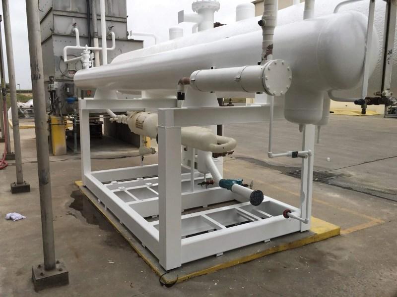 Chiller Spray Foam Insulation Hulsey Contracting Inc Corona CA 001