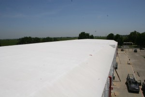 Hulsey Contracting Inc Spray Foam Roofing  Process 002