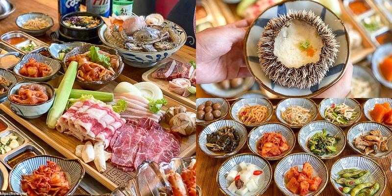 澎湖吃到飽推薦 「9458 B.B.Q&Hot Pot 오빠(oppa)韓式烤肉&火鍋吃到飽」超狂!打卡送海膽~讓你大口吃肉大口吃海鮮 ! 澎湖旅遊景點推薦 