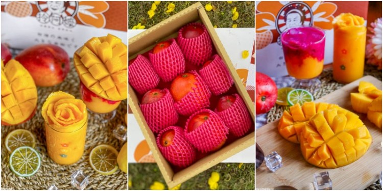 「拎阿嬤枋山芒果」夏天必吃!愛文芒果重磅級登場~每顆甜度高達15度的鮮甜 !季節限定|宅配到府|