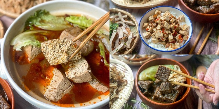 台南宅配美食「老船長的私房料理」冷颼颼!在家輕鬆上桌太美味~夠味麻辣豆腐/米血超推薦。|素食可食|