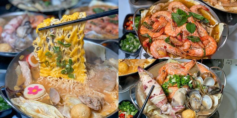 台南火鍋「鍋醬」超人氣平價小火鍋!$100起~推薦必點韓式泡菜!超霸氣整條小卷超海味!|夏林路|台南宵夜|