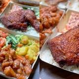 台南美食外帶便當「百陞雞腿飯」超大雞排、雞腿便當!功夫菜色梅汁雞丁,飲料,湯品免費喝!|南科外送|便當推薦|